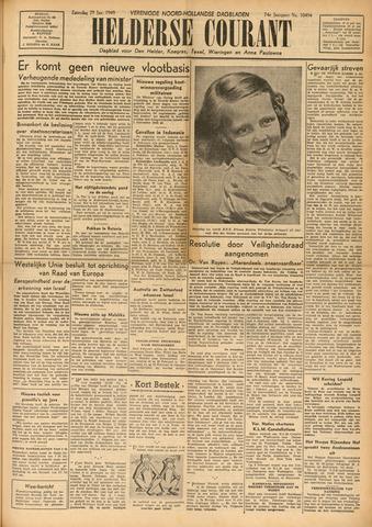 Heldersche Courant 1949-01-29