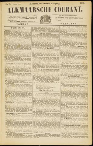 Alkmaarsche Courant 1900-01-07