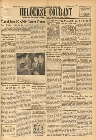 Heldersche Courant 1950-10-03