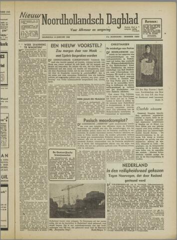 Nieuw Noordhollandsch Dagblad : voor Alkmaar en omgeving 1946-01-14