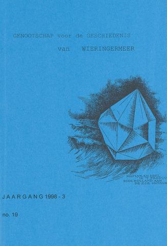 Kroniek Historisch Genootschap Wieringermeer 1998-07-01