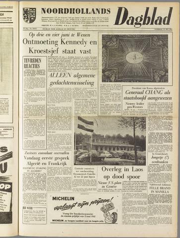 Noordhollands Dagblad : dagblad voor Alkmaar en omgeving 1961-05-20