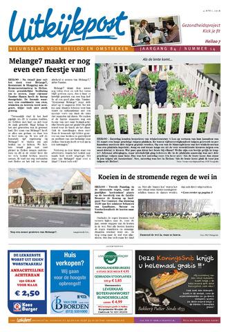 Uitkijkpost : nieuwsblad voor Heiloo e.o. 2018-04-04