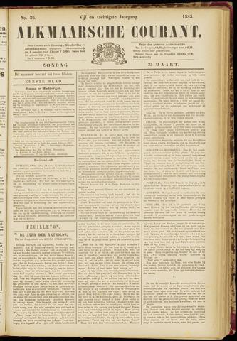 Alkmaarsche Courant 1883-03-25