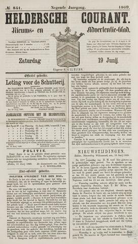 Heldersche Courant 1869-06-19