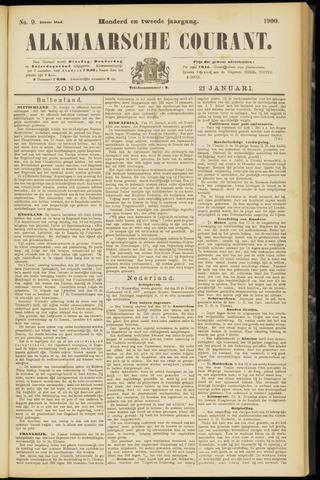 Alkmaarsche Courant 1900-01-21