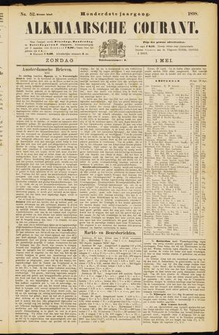 Alkmaarsche Courant 1898-05-01