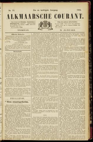 Alkmaarsche Courant 1884-01-25
