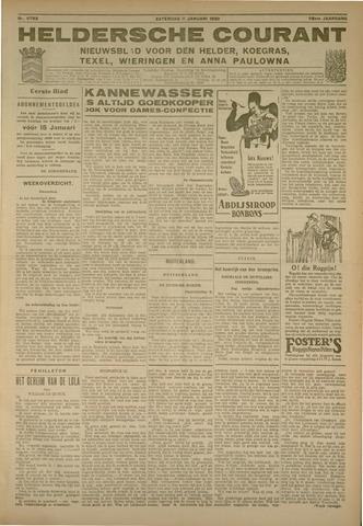 Heldersche Courant 1930-01-11