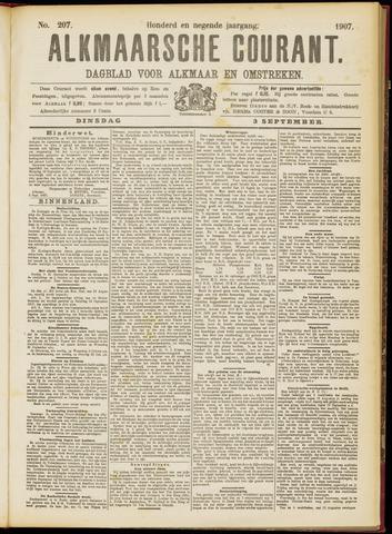 Alkmaarsche Courant 1907-09-03