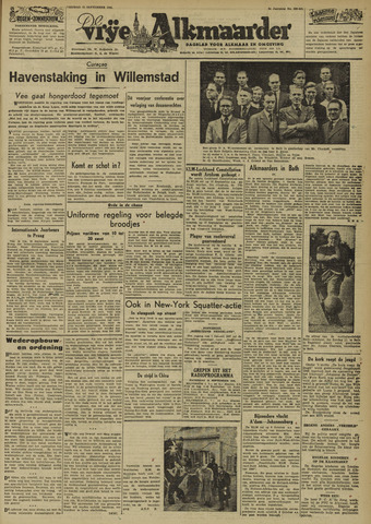 De Vrije Alkmaarder 1946-09-13