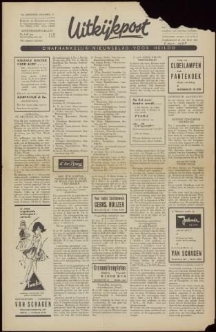 Uitkijkpost : nieuwsblad voor Heiloo e.o. 1958-10-31