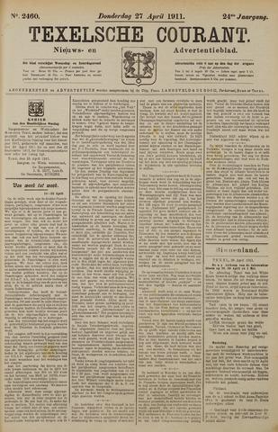 Texelsche Courant 1911-04-27