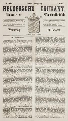 Heldersche Courant 1870-10-19