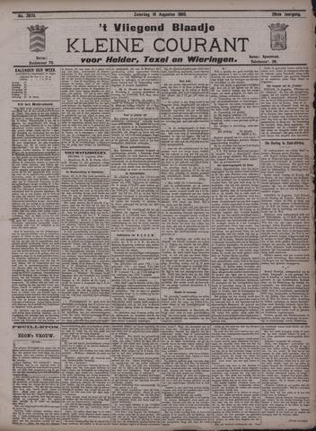 Vliegend blaadje : nieuws- en advertentiebode voor Den Helder 1900-08-18