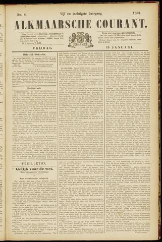 Alkmaarsche Courant 1883-01-19