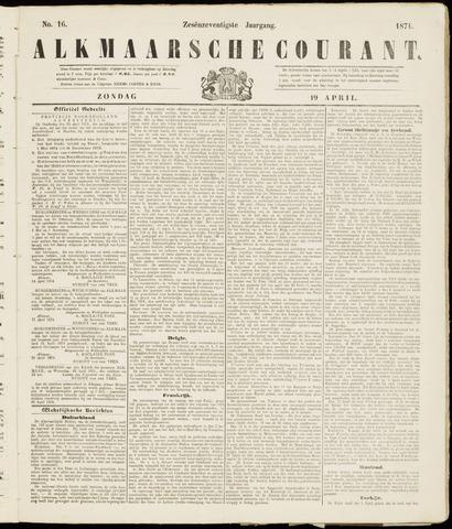 Alkmaarsche Courant 1874-04-19