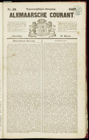Alkmaarsche Courant 1857-03-30