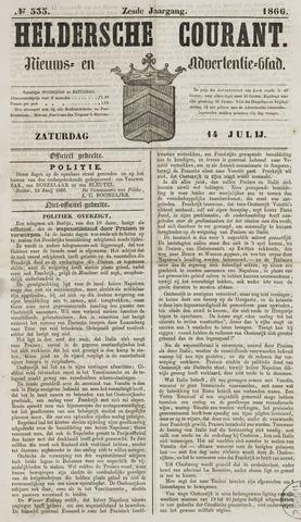 Heldersche Courant 1866-07-14