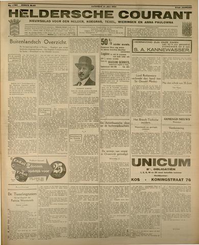 Heldersche Courant 1934-07-21