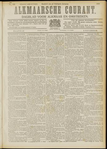 Alkmaarsche Courant 1919-11-03
