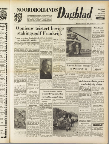 Noordhollands Dagblad : dagblad voor Alkmaar en omgeving 1953-08-12