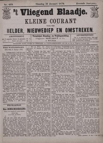 Vliegend blaadje : nieuws- en advertentiebode voor Den Helder 1879-01-21