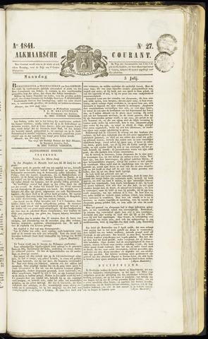 Alkmaarsche Courant 1841-07-05