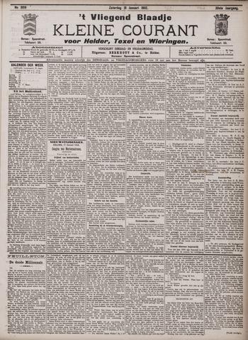 Vliegend blaadje : nieuws- en advertentiebode voor Den Helder 1902-01-18