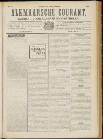 Alkmaarsche Courant 1909-03-10