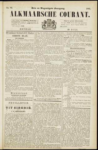 Alkmaarsche Courant 1891-07-19