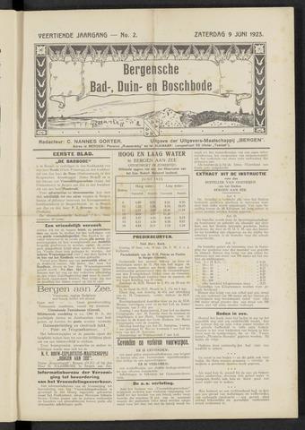 Bergensche bad-, duin- en boschbode 1923-06-09