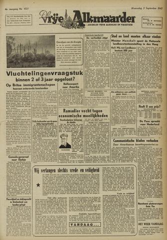 De Vrije Alkmaarder 1947-09-03