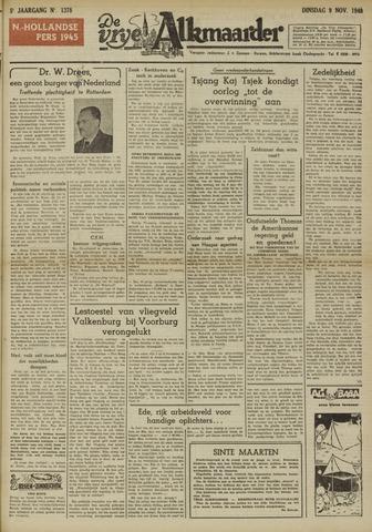 De Vrije Alkmaarder 1948-11-09