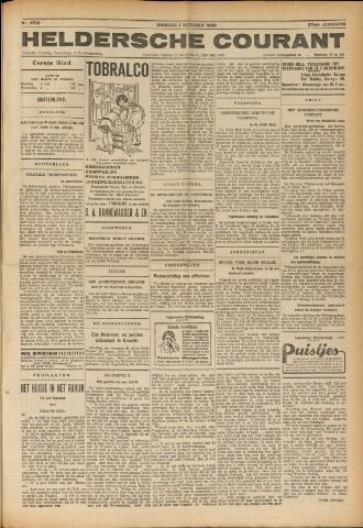 Heldersche Courant 1929-10-01
