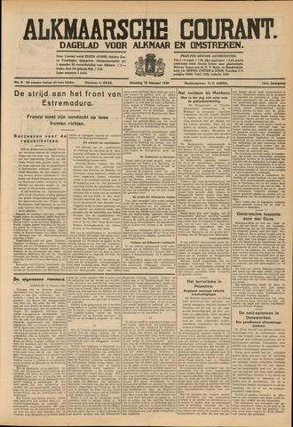 Alkmaarsche Courant 1939-01-10