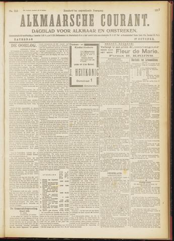 Alkmaarsche Courant 1917-10-27
