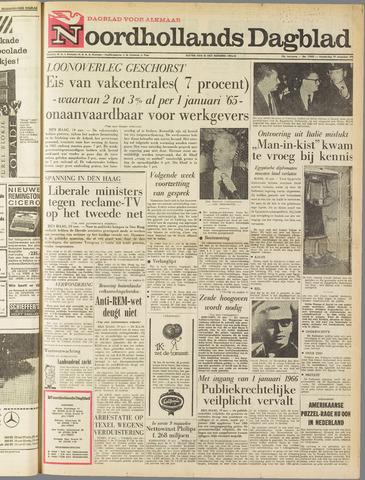 Noordhollands Dagblad : dagblad voor Alkmaar en omgeving 1964-11-19