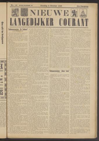 Nieuwe Langedijker Courant 1926-10-05