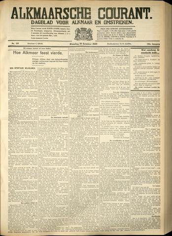 Alkmaarsche Courant 1933-10-10