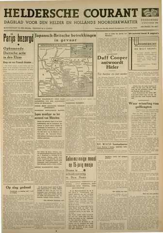 Heldersche Courant 1938-10-13