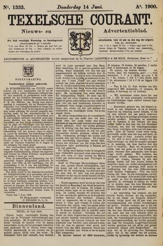 Texelsche Courant 1900-06-14