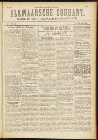 Alkmaarsche Courant 1917-12-04