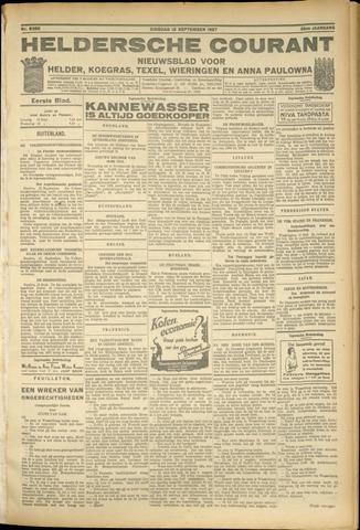 Heldersche Courant 1927-09-13