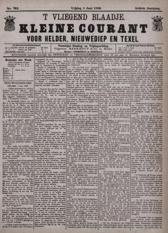 Vliegend blaadje : nieuws- en advertentiebode voor Den Helder 1880-06-04
