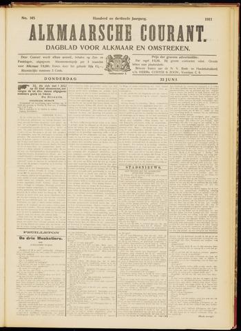 Alkmaarsche Courant 1911-06-22