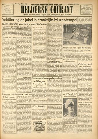 Heldersche Courant 1950-05-25