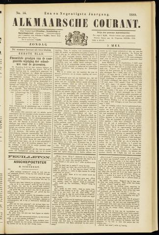 Alkmaarsche Courant 1889-05-05