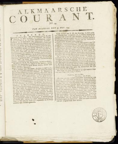 Alkmaarsche Courant 1814-05-23