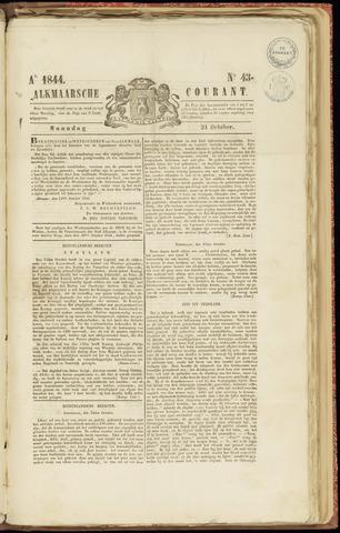 Alkmaarsche Courant 1844-10-21